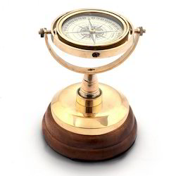 Real Brass Spinning Compass 247
