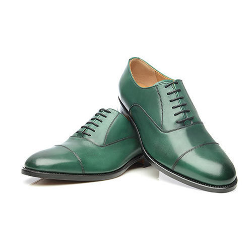 AM Men Green Semi Formal Shoes 951986f16ba