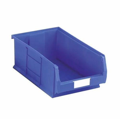 HDPE Blue Storage Bins, Size: 51.5 Mm X 11mm X 20 Mm