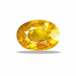Yellow Crystal 5.25 Ratti Sapphire Pukhraj Gemstone