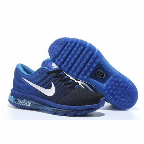 half off e3996 61a71 Nike Air Max 2017 Black Blue Shoes