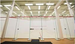 LOKOZO Cool White Squash Court Lighting
