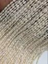 SSGJ Freshwater Pearl Strand 3-3.5 mm Size, Cream Color, Uneven Shape