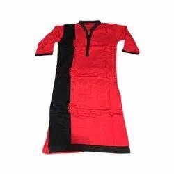 Ladies Plain Rayon Kurti, Size: S-3XL