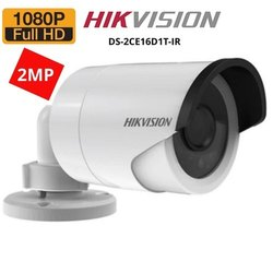 2 Mp Day & Night Hikvision Bullet Camera, For Outdoor And Indoor, Camera Range: 15 To 20 M