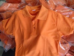 Polo Neck Half Sleeve plain matty coller tshirt