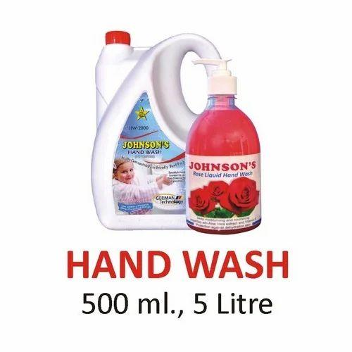 Johnson' s Liquid Hand Wash, Pack Size: 500 Ml