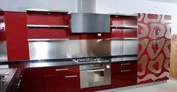 Residential Metal Modular Kitchen