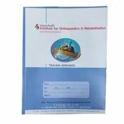 Paper Box File Rectangular Plastic Folder, For Office