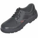Lace Type Karam Leather Safety Shoe