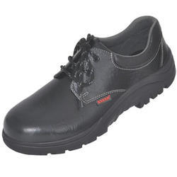 Lace Type Karam Leather Safety Shoe