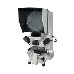 white steel Profile Projector, For Testing Laboratory