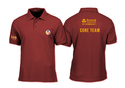 Cotton Maroon Corporate Polo T-shirt
