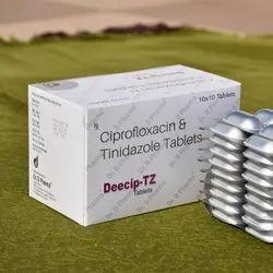 Ciprofloxacin & Tinidazole