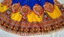 Gujarati Girls Hand embroidered Chaniya Choli - Navratri Ghagra Choli