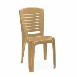 Brown,Marble Beige Nilkamal CHR 4025 Armless Chair
