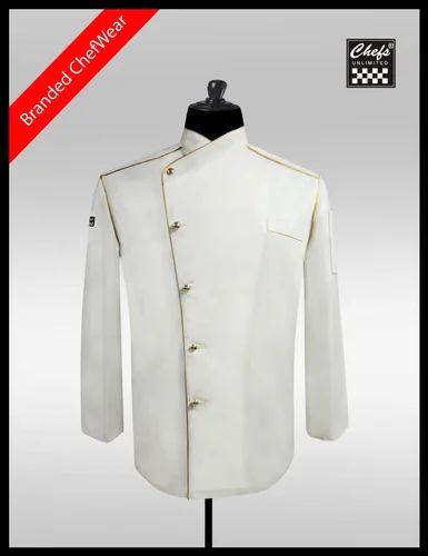 New Chef Jacket Designs   Chef Kitchen Uniforms Rexine Leather Kitchen Aprons
