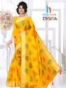 Digital Printed Fancy Cotton Sarees