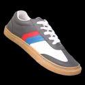 Kayvee Footwear Leather Fashion Canvas Shoes