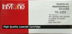 Brother TN 3355 (TN 3355) Compatible Black Toner Cartridge For Brother Printers