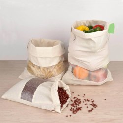 Cotton Reusable Produce Bags