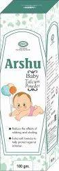 适用于婴儿的Arshu Talcum粉,包装大小:100克