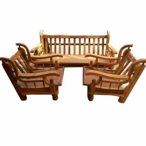 Antique Wooden Sofa Set