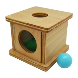 Wooden ST03 Infant Imbucare Box With Sphere