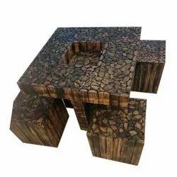 Brown Log Furniture