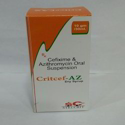 Cefixime Azithromycin Oral Suspension