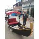 Wooden Gondola Boat