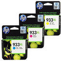 HP 933XL High Yield Color Original Ink Cartridges