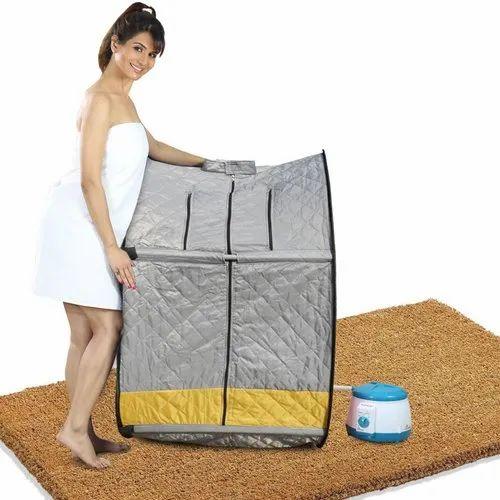 Kawachi Premium Quality Dual Tone Portable Steam Sauna Bath Panchkarma Swedan Machine