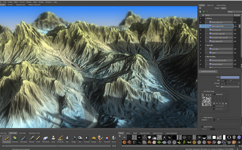 Mudbox - Digital painting and Sculpting Software - Capricot
