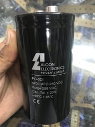 Alcon Capacitor 4700 MFD - 250 VDC