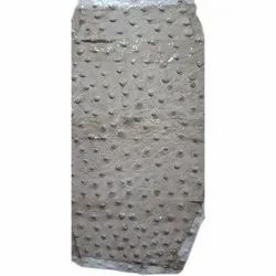 Buffalo Ostrich Print Leather, Thickness: 1.2-5mm