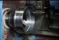 Mild Steel CNC Lathe Machine Components, Packaging Type: Box