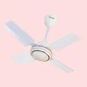 Sonic White 4 Blade Ceiling Fan