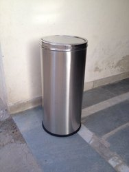 Stainless Steel Dustbin Swing Type 14x28 70L