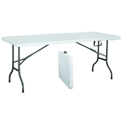 Plastic Fold In Half Table