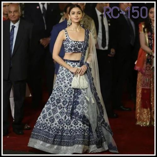 92147ec65e Bollywood Printed Lehenga Choli, लहंगा चोली, Bollywood ...