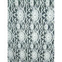 White Polyester Lace Fabric