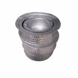 Silver Aluminium Biryani Handi