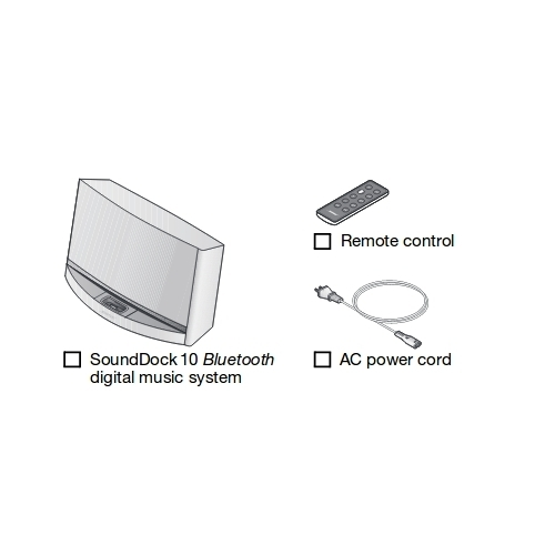 Bose 8 4 kg Sound Dock 10 System - Bose Corporation India