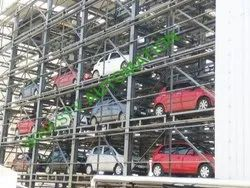 Two Tower Car Lift System