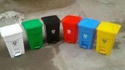 Bio Medical Waste Dust Bin 15ltr And 32ltr