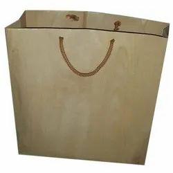 Handled Matt design Paper Handle Bag, Features: Water Proof, Bag Size: 10 X 14 X 3 Inch