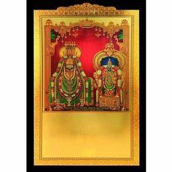 Gold Foil Thiruvannamalaiyar Calendar