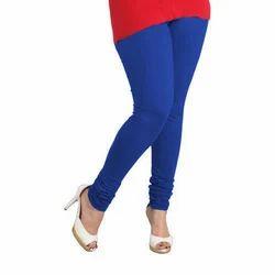 Cotton Blue Plain Legging