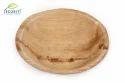 Ecoriti Biodegradable Ecofriendly Leaf Round Bowl